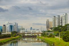 Sao Paulo-Ansicht lizenzfreies stockbild