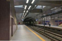 Inside the Eucalipto brand new subway station stock photography