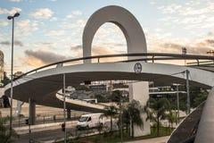 Sao Paulo, Brasilien, am 3. Mai 2011 Das Denkmal von Latein-Amerika ist eine kulturelle Mitte, politisch und die Freizeit, herein stockfoto