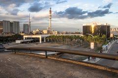 Sao Paulo, Brasilien, am 3. Mai 2011 Das Denkmal von Latein-Amerika ist eine kulturelle Mitte, politisch und die Freizeit, herein stockbild