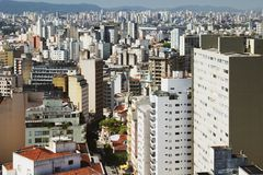 Sao Paulo, Brazil. Down town Sao Paulo, Brazil Royalty Free Stock Photos