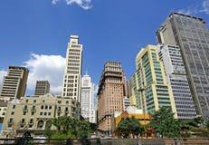 Sao Paulo, Brazil. Sao Paulo, downtown with skyscrapers Royalty Free Stock Photo