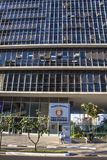 Municipal chamber. Sao Paulo, Brazil, August 19, 2010. View of building municipal chamber of aldermen of the Sao Paulo city Royalty Free Stock Photos