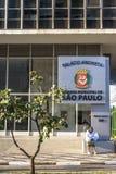 Municipal chamber. Sao Paulo, Brazil, August 19, 2010. View of building municipal chamber of aldermen of the Sao Paulo city Stock Photo