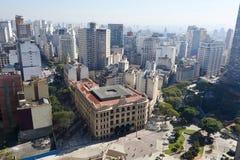 Sao Paulo Brazil. Building architecture of Sao Paulo city Brazil Stock Photos