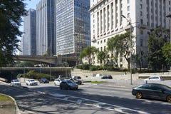Sao Paulo Brazil. Building architecture of Sao Paulo city Brazil Stock Images