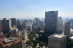 Sao Paulo - Brazil. Building architecture of Sao Paulo city Brazil Stock Image