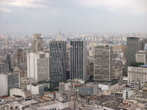 Sao Paulo Brazil City panorma skyline World cup Football viva Stock Images