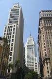 Sao Paulo Brazil city skyline royalty free stock image
