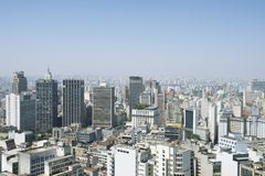Sao Paulo Brazil Cityscape Skyline stock photography