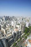 Sao Paulo Brazil Cityscape Skyline Vertical Imagen de archivo libre de regalías