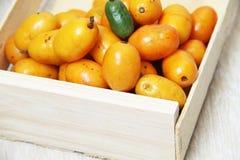 Sao Paulo Brazil för mat för vit bakgrund för Seriguela ask frukt isolerad tropisk arkivfoto