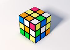Rubik Cube vector illustration