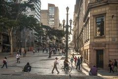 Sao joao Avenue Stock Photos