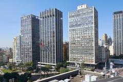 Sao Paulo. Building architecture of Sao Paulo city Brazil Stock Image