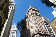 Sao Paulo. Building architecture of Sao Paulo city Brazil Stock Photo