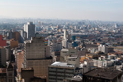 Sao paulo city Royalty Free Stock Photos