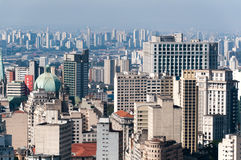 Sao Paulo city Royalty Free Stock Image