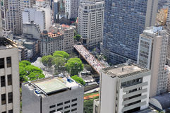 Sao Paulo city center, Brazil Royalty Free Stock Images