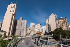 Sao Paulo City Center Buildings Stock Photo