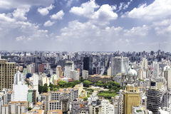 The Sao Paulo city in South America, Brazil Stock Images