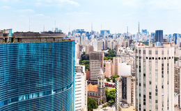 The Sao Paulo city in South America, Brazil Stock Photos