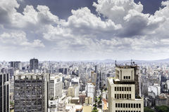 The Sao Paulo city in South America, Brazil Stock Photography