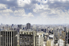 The Sao Paulo city in South America, Brazil Royalty Free Stock Images