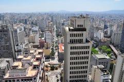 Sao Paulo cityline, Brazil Stock Image