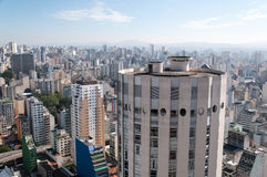 Sao Paulo cityscape Stock Images
