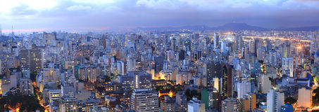 Sao Paulo cityscape Royalty Free Stock Images