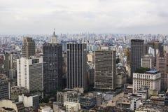 Sao Paulo Cityscape, el Brasil Foto de archivo