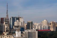 Sao Paulo Cityscape Royalty Free Stock Photo