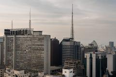 Sao Paulo Cityscape Royalty Free Stock Image