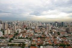 Sao-Paulo, die wichtigste Stadt in Brasilien Lizenzfreies Stockbild