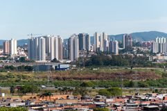 Sao Paulo e Guarulhos Fotografia Stock Libera da Diritti
