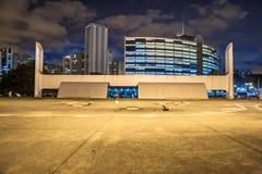 Sao Paulo, el Brasil, el 3 de mayo de 2011 El monumento de América latina es un centro cultural, político y ocio, abierto en el 1 fotos de archivo