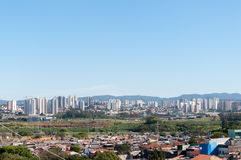 Sao Paulo en Guarulhos Royalty-vrije Stock Afbeelding
