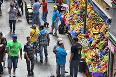 Sao Paulo fruit market Stock Photography