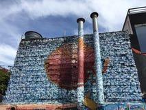 Sao Paulo Graffiti Imagenes de archivo