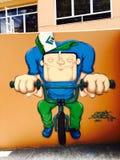 Sao Paulo Graffiti Stock Afbeeldingen