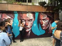 Sao Paulo Graffiti Fotografia Stock
