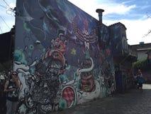 Sao Paulo Graffiti Foto de archivo libre de regalías