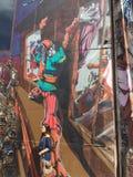 Sao Paulo Graffiti Fotografía de archivo libre de regalías