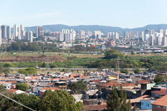 Sao Paulo and Guarulhos Royalty Free Stock Photography