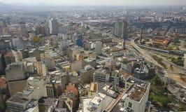 Sao Paulo horisont, Brasilien. Arkivbild