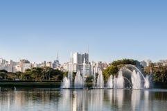 Sao Paulo, Ibirapuera-Park stockbild