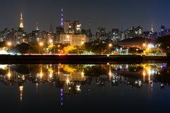 Sao Paulo, Ibirapuera-Park Royalty-vrije Stock Fotografie