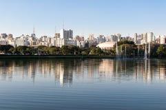 Sao Paulo, Ibirapuera Park Royalty Free Stock Images