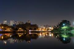Sao Paulo, Ibirapuera Park Royalty Free Stock Photo